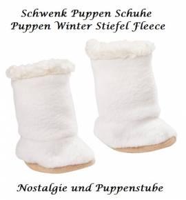 Schwenk Puppen Kleidung Schuhe Winterstiefel Fleece für 30 - 33 cm Puppen  068 - Bild vergrößern