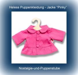 Heless Puppenkleidung 1325 - Sommer Jacke -Pinky- f�r 35 bis 45 cm gro�e Puppen - Bild vergr��ern