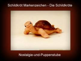 Schildkröt Markenzeichen der Firma Schildkröt Schildkröte ca 12 cm - Bild vergrößern