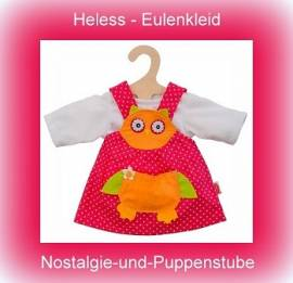 Heless Puppenkleidung, Eulenkleid, für 35 cm bis 45 cm große Puppen - Bild vergrößern