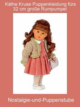 Käthe Kruse Puppen Kleidung Rumpumpel Clara 32 cm 32402 - Bild vergrößern
