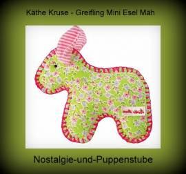 Käthe Kruse fürs Baby, Luckies mini Esel Mäh, Greifling, ca. 14 cm groß - Bild vergrößern