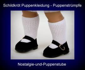 Puppenkleidung Puppen Strümpfe Kniestrümpfe für 7 cm Füße Schildkröt, Nr. 49175 - Bild vergrößern