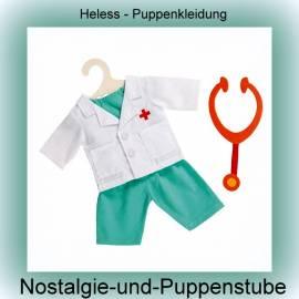 Heless Puppenkleidung, Arzt-Outfit für Puppen von 35 - 45 cm  - Bild vergrößern