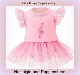 Puppen Kleidung Ballerina Ballett Kleid für 30 - 33 cm Puppen Käthe Kruse 30606 - Bild vergrößern
