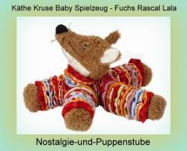 Käthe Kruse fürs Baby, Spielzeug Fuchs Rascal Lala, ca. 22 cm  - Bild vergrößern