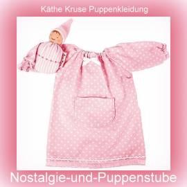 Puppen Kleidung Nachthemd für 40 cm Puppen Käthe Kruse Waldorf Süße Träume 38280  - Bild vergrößern