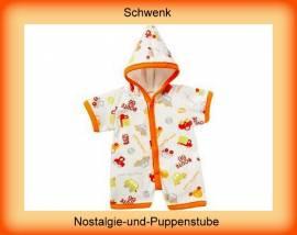 Schwenk Puppenkleidung, Nickibody mit Kapuze, für 36 - 40 cm Puppen - Bild vergrößern