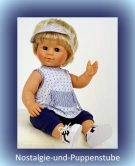 Schildkröt, Puppenkleidung für ca.50 - 52 cm große Babypuppen, Sommeranzug - Bild vergrößern