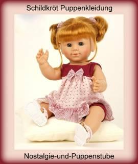 Schildkröt Puppenkleidung, Sommer - Set, für 50 cm Babypuppen - Bild vergrößern