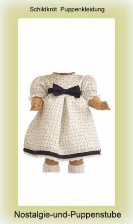 Schildkröt Puppen Kleidung Kleid Hängerchen im Empirestil für 34 cm Puppen 34570 - Bild vergrößern