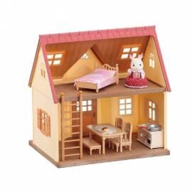 Sylvanian Families Starter Haus Puppen Haus Spiel Haus mit 10 Teilen Zubehör - Bild vergrößern