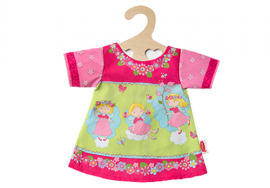 Puppen Kleid Puppen Sommerkleid mit Märchenmotiv von Heless für 28 - 35 cm Puppen 1710 - Bild vergrößern