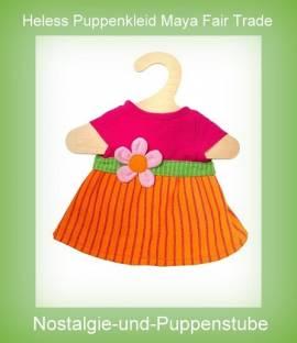 Heless Puppen Kleid Modell Maya für 28 cm bis 35 cm Puppen ein Fair Trade Produkt ArtNr.1722 - Bild vergrößern