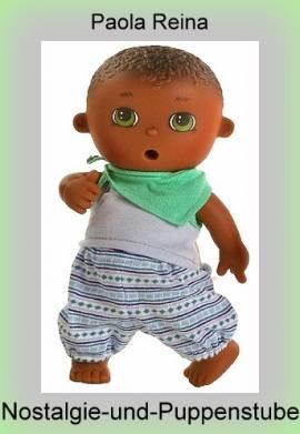 Spiel Puppe Mini Puppe Trink u Näß Baby Paola Fedor 21 cm von Paola Reina - Bild vergrößern
