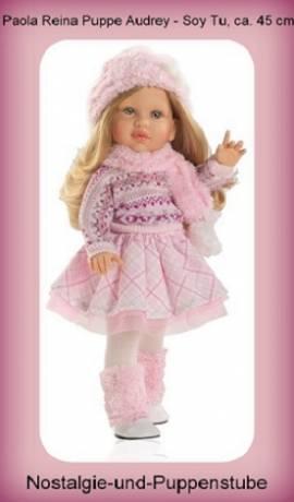Künstler Puppe Spielpuppe Audrey Soy Tu blond 42 cm Paola Reina 6062  - Bild vergrößern