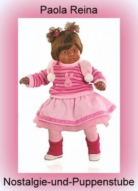 Sammler Puppe Künstler Puppe Spiel Puppe Nina 57 cm von Paola Reina 8551 - Bild vergrößern