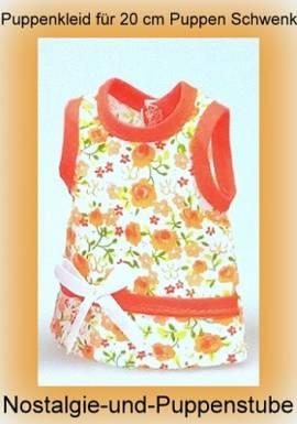 Puppen Kleidung Kleid Sommerkleid für 20 - 22 cm Puppen 10920 b - Bild vergrößern