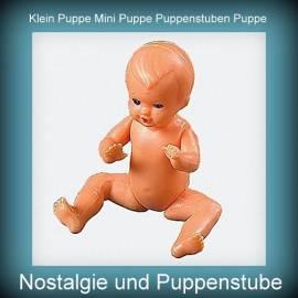 Klein Puppen Puppenstuben Puppen Baby Puppe 10 cm von Emil Schwenk - Bild vergrößern