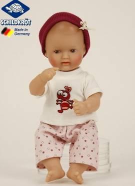 Schildkröt Puppenkleidung für Mein erstes Baby 28 cm 3-teiliges Set  28876 - Bild vergrößern