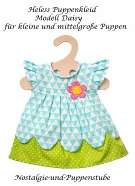 Puppen Kleid Puppen Sommerkleid Modell Daisy für 28 - 35 cm Puppen Heless  1855 - Bild vergrößern