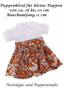 Puppen Kleidung Kleid Sommerkleid für 18 bis 20 cm Puppen 1113 - Bild vergrößern