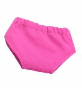 Puppen Unterwäsche pink Unterhose Slip Schlüpfer 30 cm Puppen 1352 p - Bild vergrößern