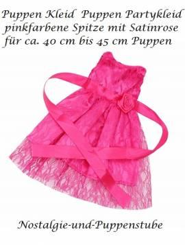 Puppen Kleidung Party Kleid Abendkleid Ballkleid Prinzessin für 40 cm Puppen 1624 - Bild vergrößern
