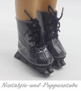 Puppen Schuhe Rollschuhe Sportschuhe Inline Skates 7 cm lang  2242 - Bild vergrößern