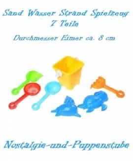 Sand Strand Wasser Eimer Spielzeug Set 7 Teile 4513 - Bild vergrößern
