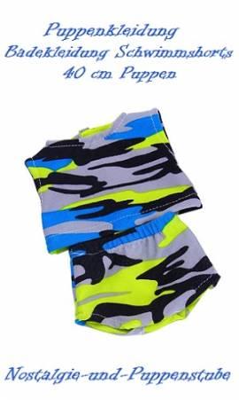 Puppen Kleidung Badeanzug Schwimmkleidung Schwimmen für 40 cm Puppen 8005 - Bild vergrößern