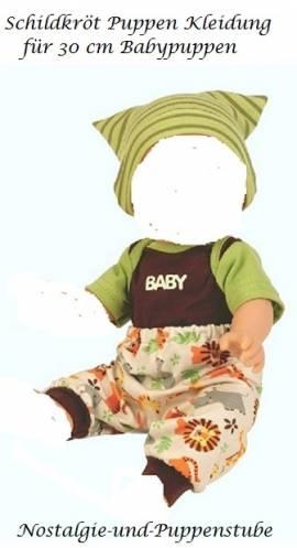 Puppen Kleidung 3teilig für 30 cm Babypuppen Sunny Schildkröt 30652 - Bild vergrößern
