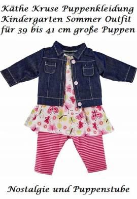 Käthe Kruse 42808 Kindergarten Sommer Outfit Puppen Kleidung Gr.39/41   - Bild vergrößern