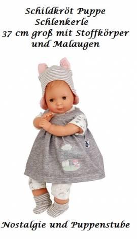 Spielpuppe Babypuppe Schildkröt Puppe 37 cm Schlenkerle 6837858 - Bild vergrößern