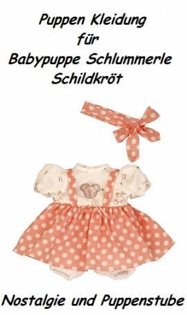 Puppen Kleidung für Babypuppe Schlummerle 32 cm 3 Teile Schildkröt, Nr. 32961 - Bild vergrößern