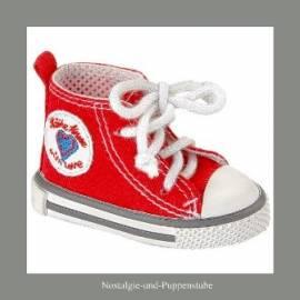 Puppen Kleidung Turnschuhe All Stars rot 7 cm Sohlenlänge Käthe Kruse 33383 - Bild vergrößern