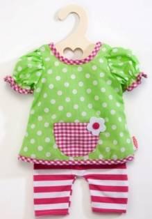Heless Puppenkleidung - 2255 -  lustiges Hängerchen mit Leggins für 35 cm bis 45 cm große Puppen - Produktbild