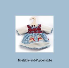 Puppenkleid Puppen Kleidung Winterkleid für 28 cm - 33 cm Puppen  1251 Heless - Bild vergrößern