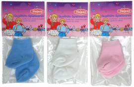 Heless Puppenkleidung, 3er Set Söckchen für 28 bis 35 cm große Puppen - Bild vergrößern