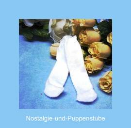 Puppen Kleidung Strumpfhose Strümpfe Unterwäsche für 46 - 50 cm Puppen Schwenk 1850 - Bild vergrößern