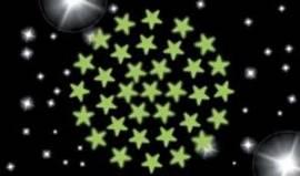 102 Leuchtsterne, direkt vom Himmel ins Kinderzimmer - Bild vergrößern