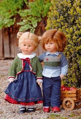 Käthe Kruse 47803 Puppe XII Hampelchen Maxl 47 cm