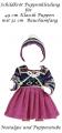 Puppenkleider Puppen Winterset mit Mütze für 49 cm Klassik Puppen Schildkröt, 49769