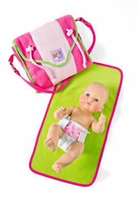 Heless Puppenzubehör, Puppen Wickeltasche mit  viel pfiffigem Zubehör - Bild vergrößern