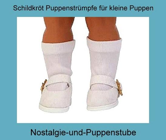 21576a01ca0ce6 Schildkröt Puppenkleidung Puppen Strümpfe weiß oder... nur 6.90 EUR