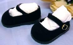 Puppen Schuhe Puppen Velour Schuhe 5 cm lang für 34 cm Puppen Schildkröt