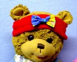 Puppen und Bären Stirnband für alle Puppengrößen